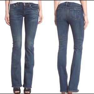 Rag & Bone Stiletto Boot Jeans in Bishop Wash